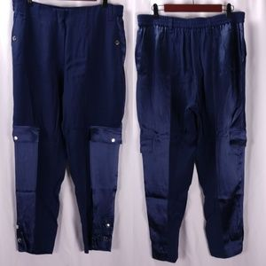Escada Sport Straight Ankle Cargo Pants Dressy